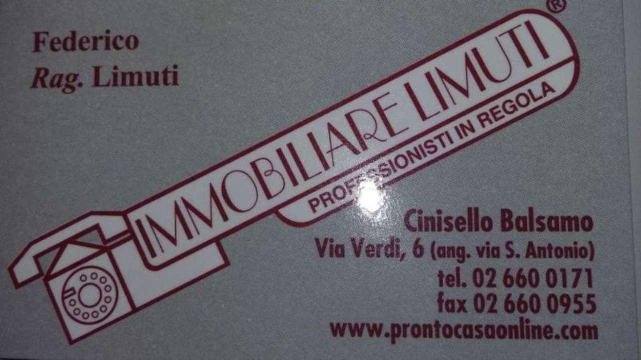 Vendita  bilocale Cinisello Balsamo  1 899659