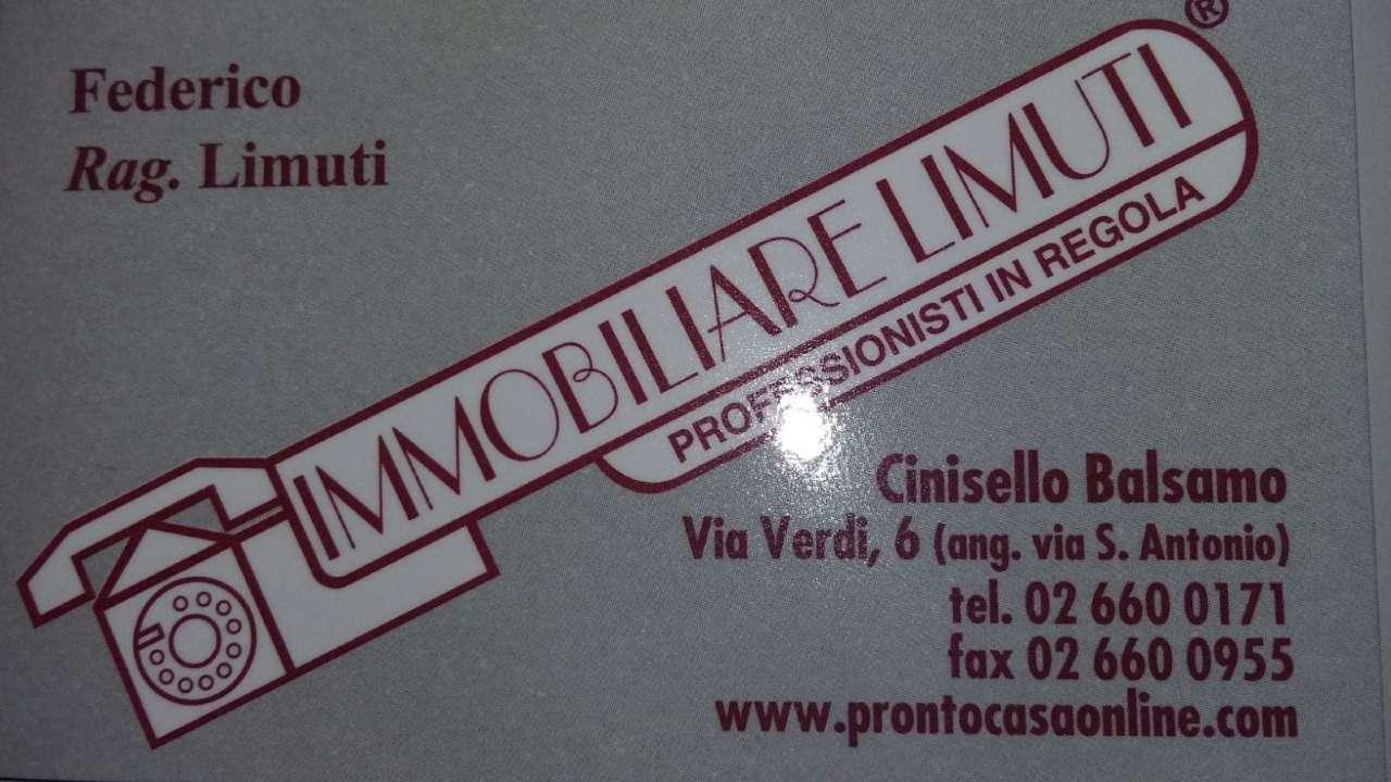 Vendita  bilocale Cinisello Balsamo Via Pelizza Da Volpedo 1 1431266