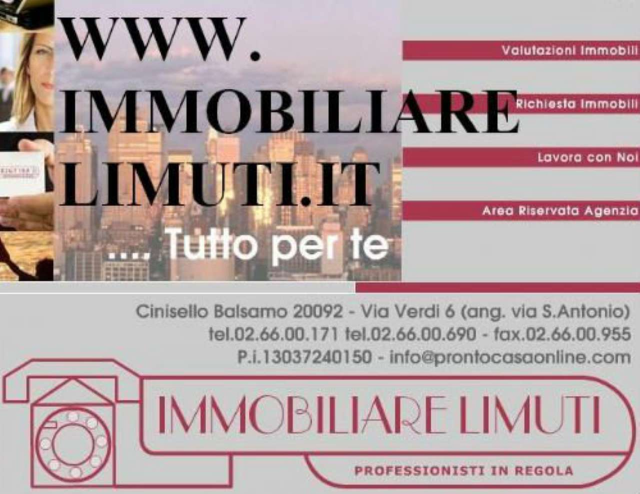 Bilocale Cinisello Balsamo Via Sant'antonio Da Padova 5