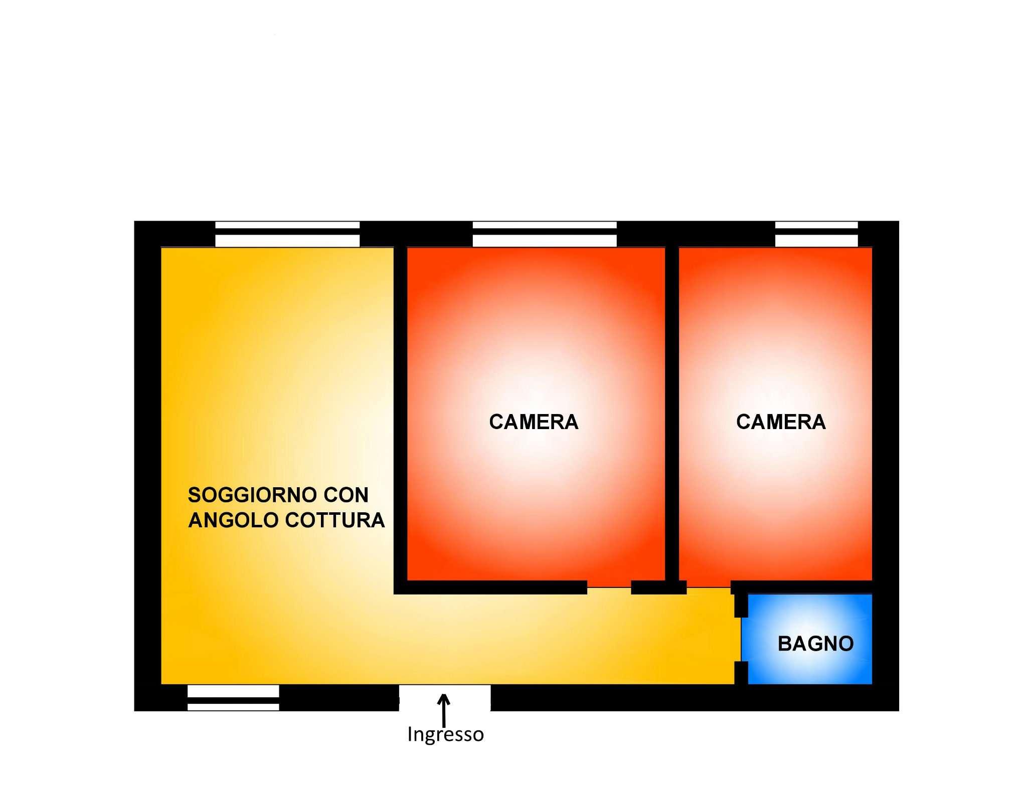 Appartamento in affitto a Cesano Maderno, 3 locali, prezzo € 550 | Cambio Casa.it