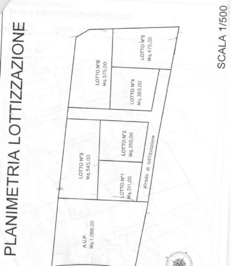 Terreno Edificabile Residenziale in vendita a Anzio, 9999 locali, prezzo € 298.000   Cambio Casa.it