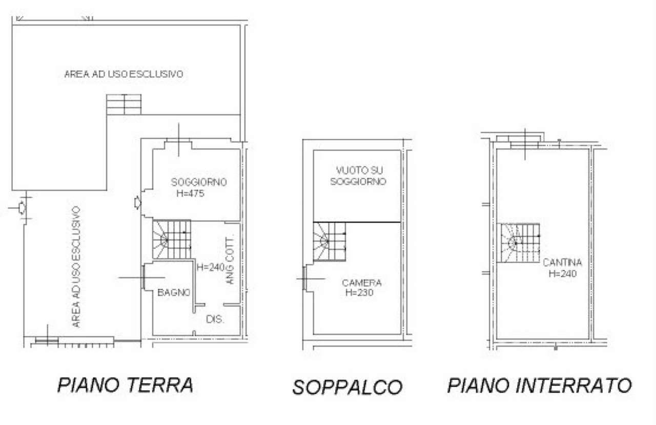 Vendita  bilocale Ossona Via Francesco Baracca 1 1434008