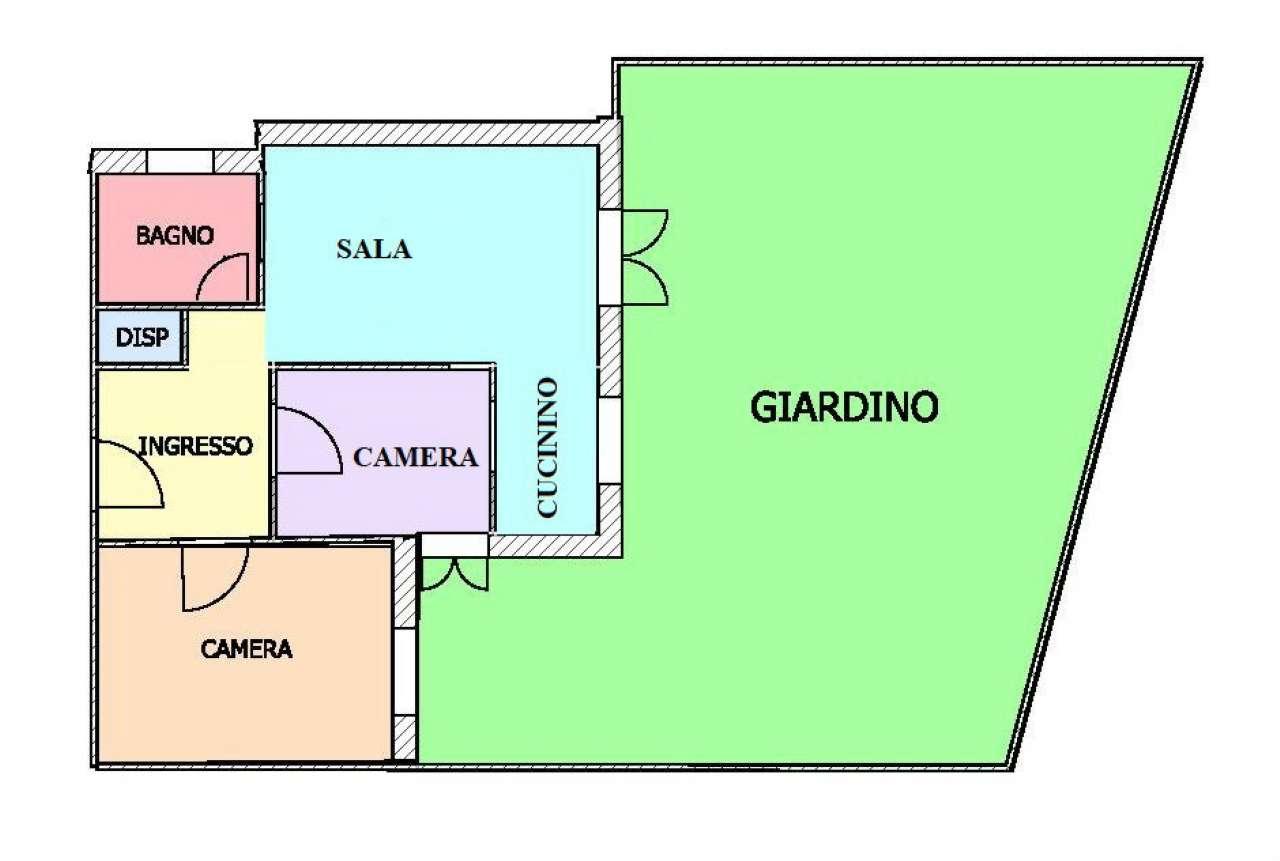Foto 1 di Appartamento via monaco simone, Genova (zona Apparizione)