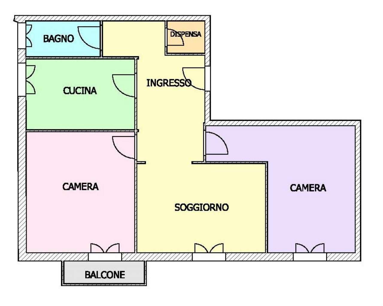 Foto 1 di Appartamento via Isonzo, Genova (zona Boccadasse-Sturla)