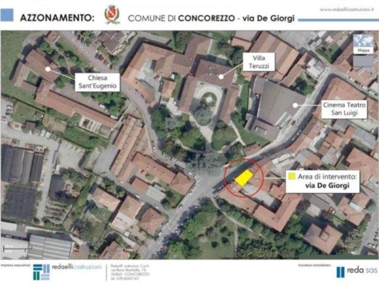 Bilocale Concorezzo Via De Giorgi 2