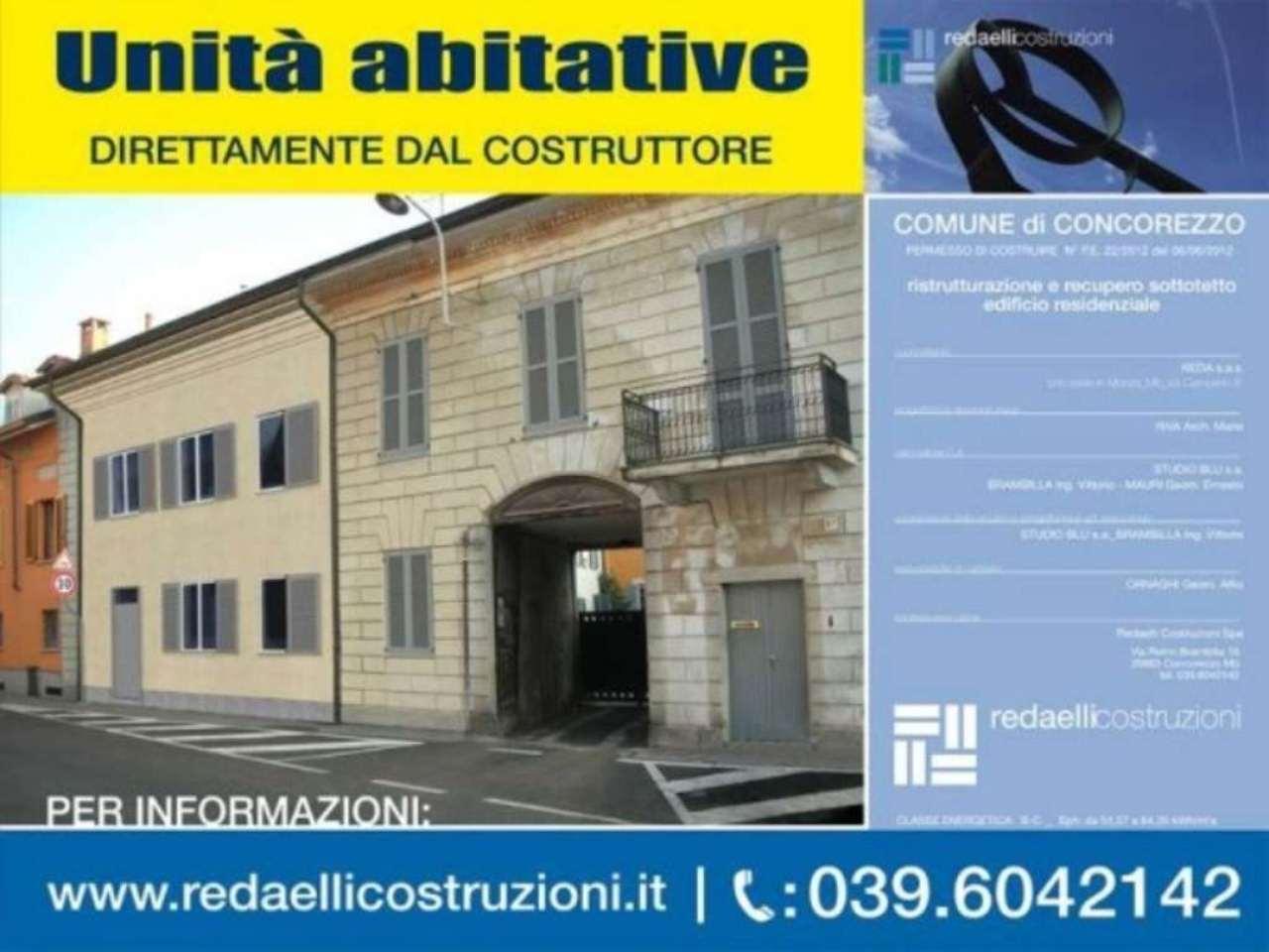 Bilocale Concorezzo Via De Giorgi 3