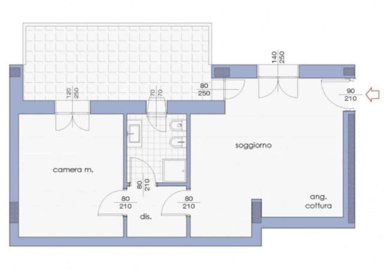 Vendita  bilocale Concorezzo Via Adda 1 856242