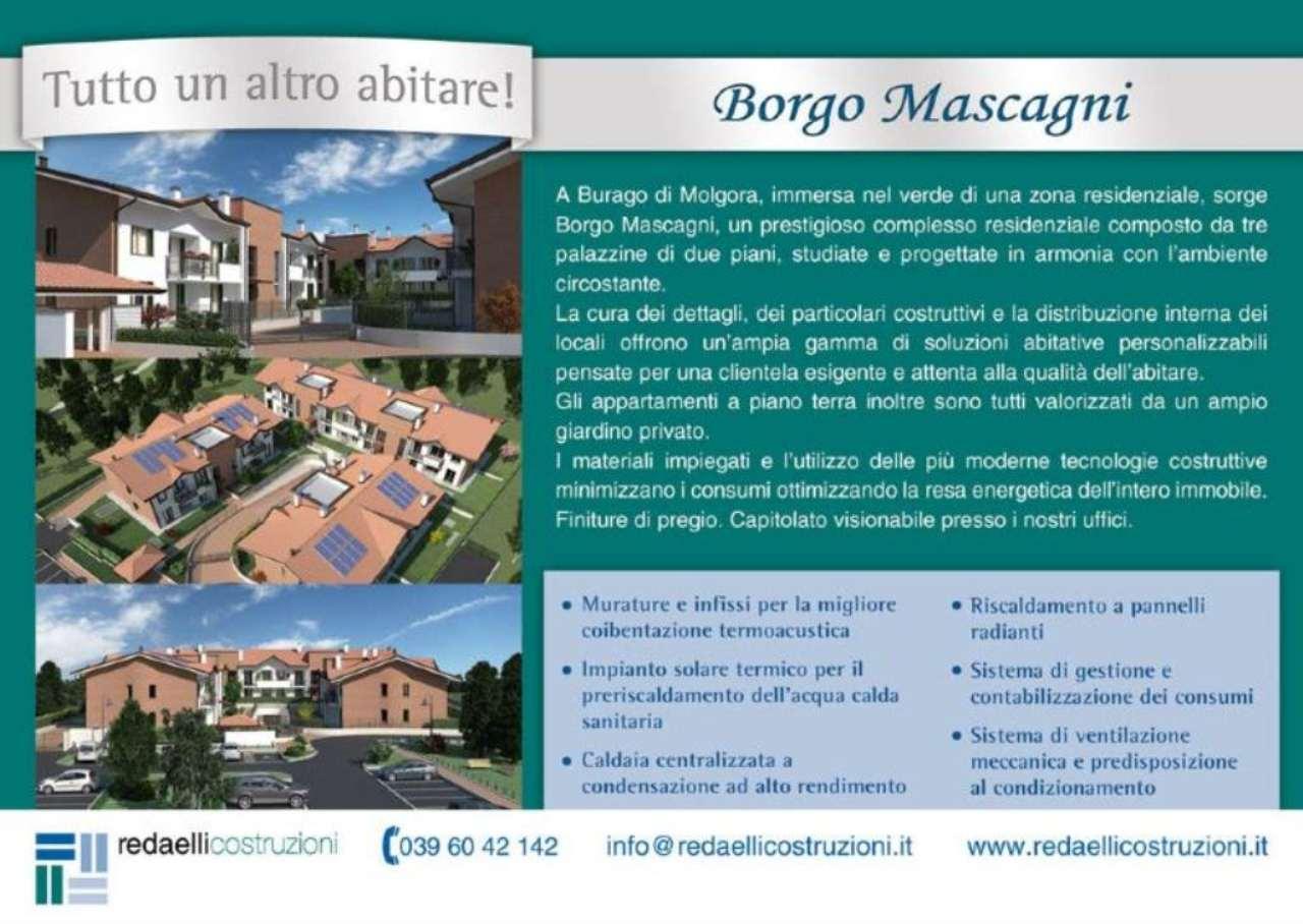 Bilocale Burago di Molgora Via Pietro Mascagni 8