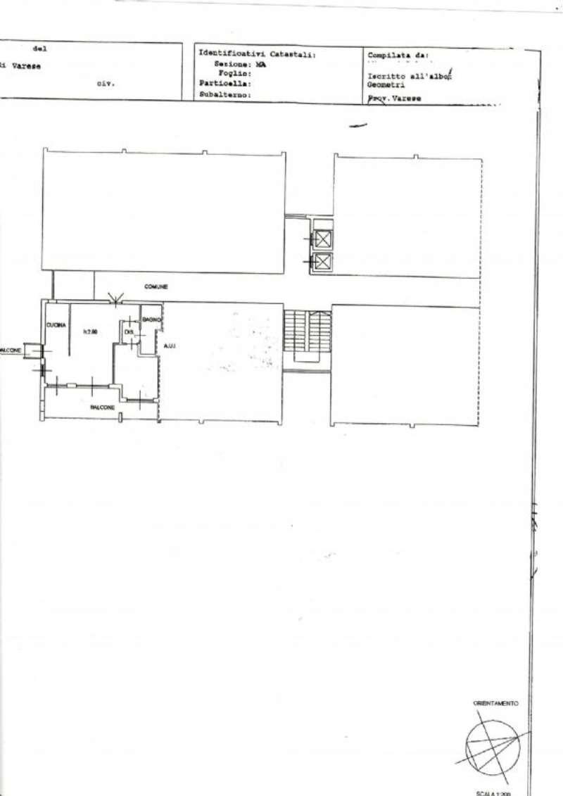 Vendita  bilocale Varese Via Crispi 1 882210