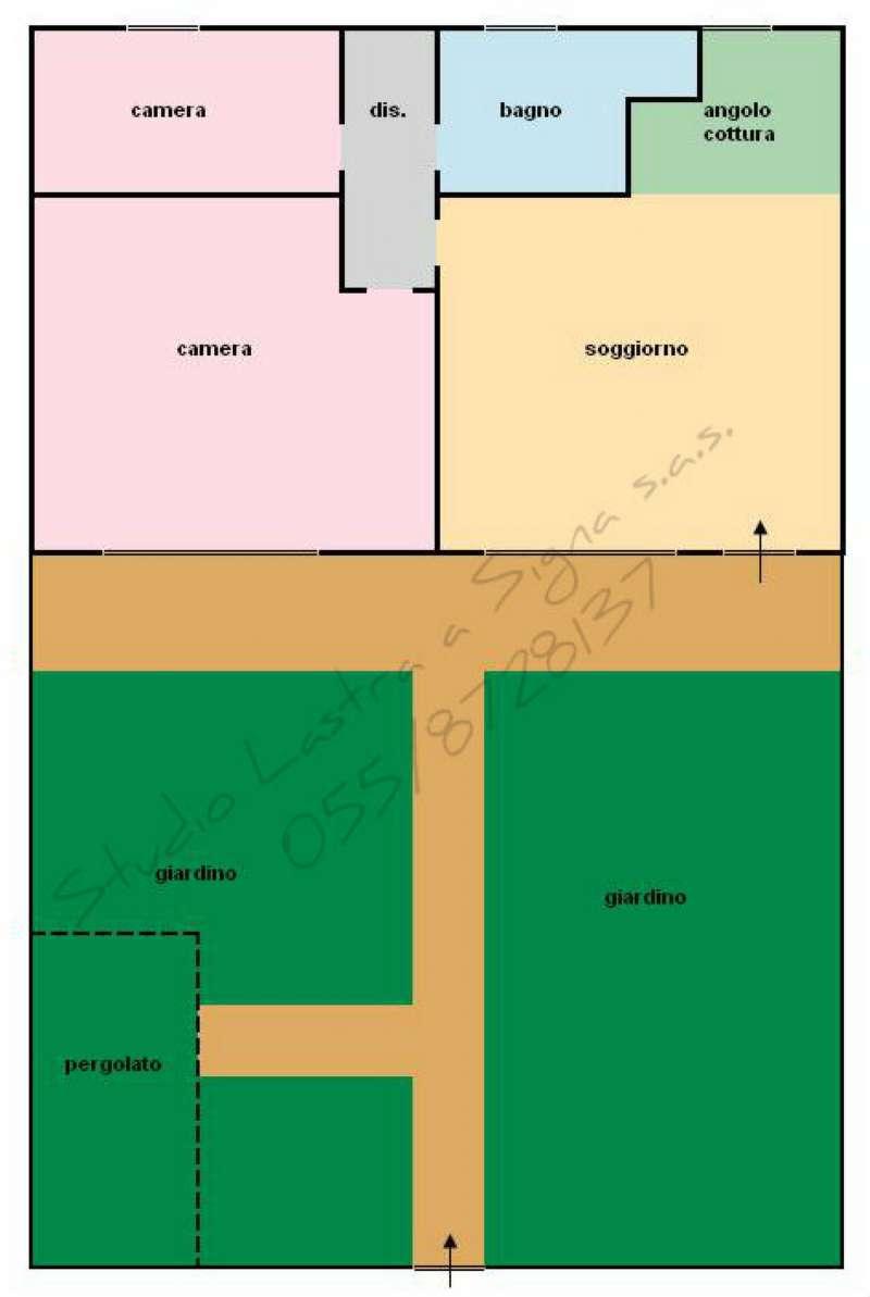 Palazzo / Stabile in vendita a Lastra a Signa, 3 locali, prezzo € 160.000 | Cambio Casa.it