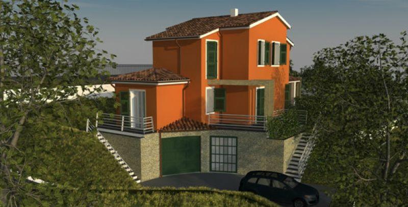 Soluzione Indipendente in vendita a Riccò del Golfo di Spezia, 5 locali, prezzo € 185.000 | Cambio Casa.it