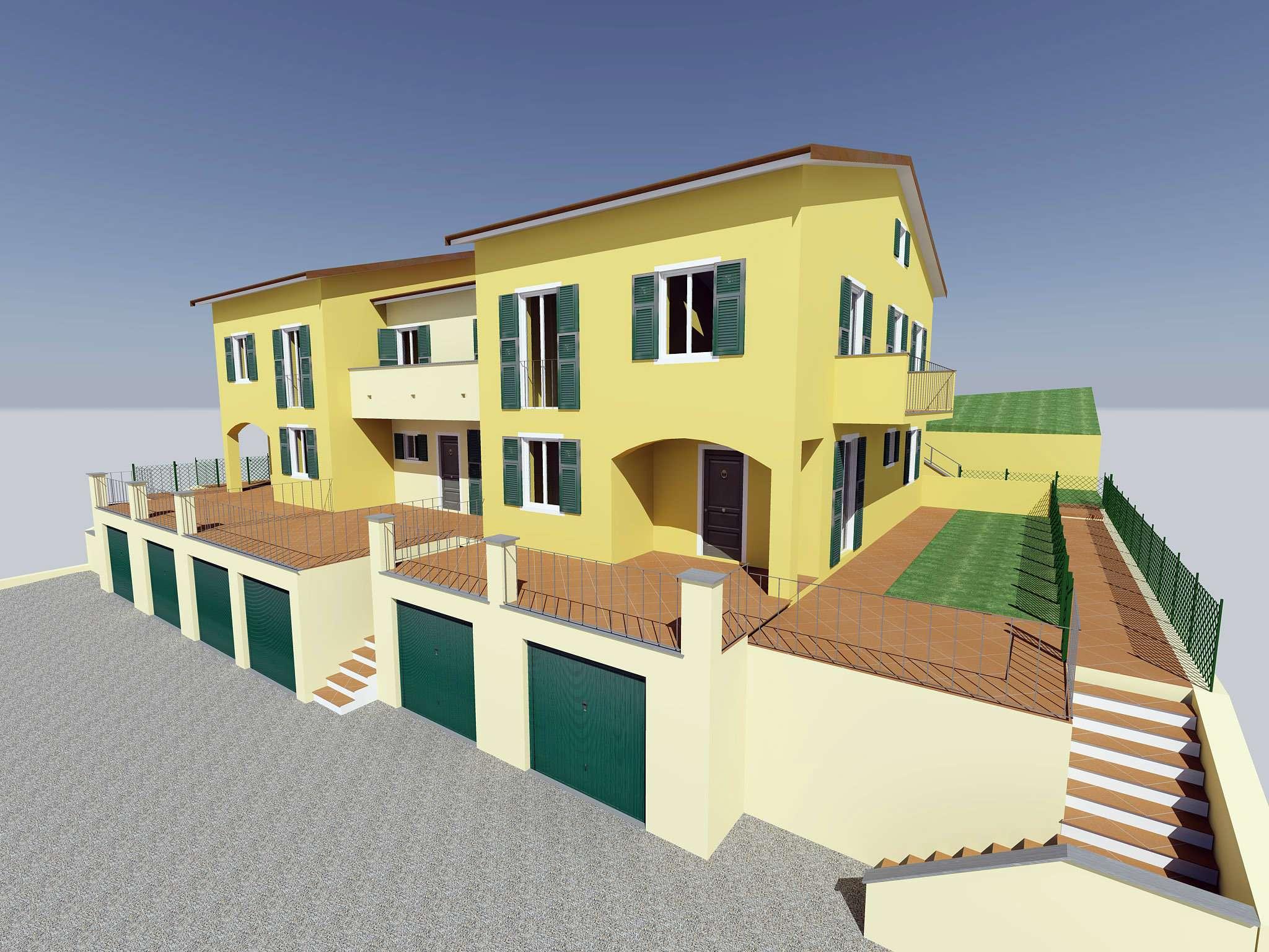 Appartamento in vendita a Riccò del Golfo di Spezia, 4 locali, prezzo € 155.000 | CambioCasa.it