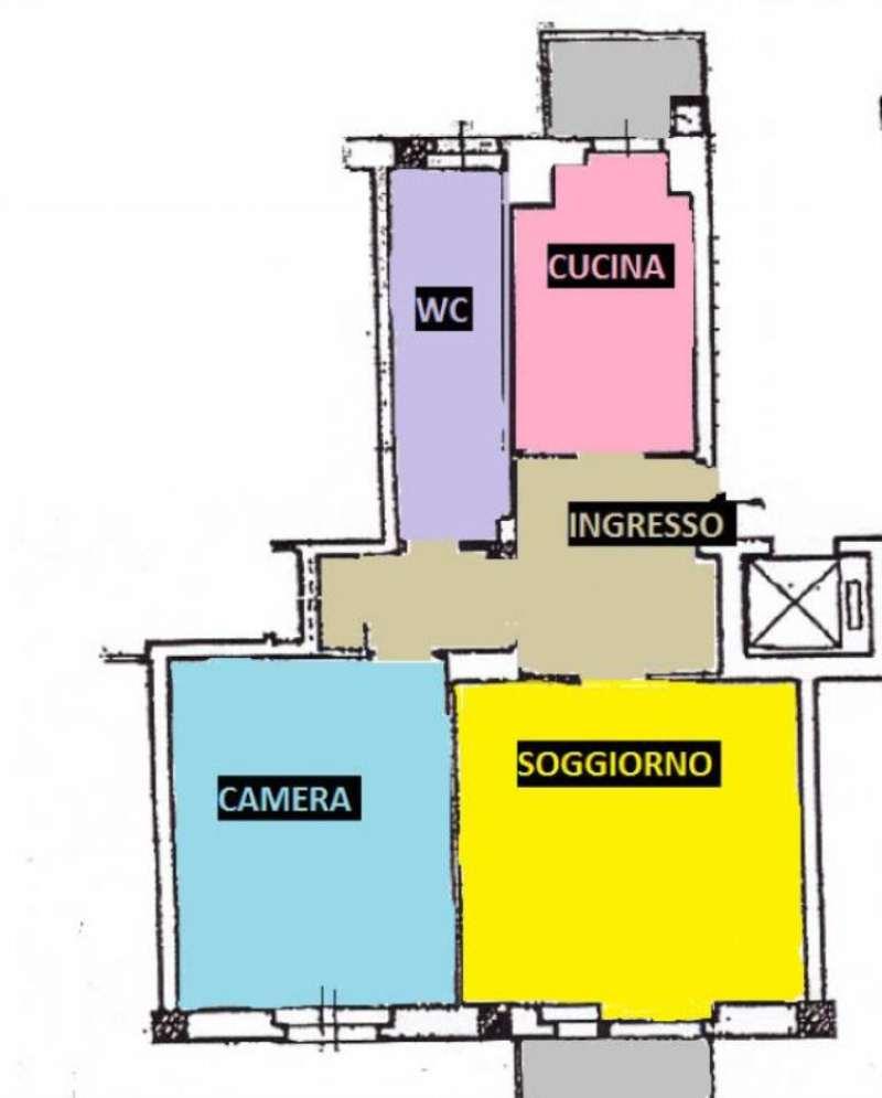 Vendita  bilocale Monza Via Pellegrini 1 872143