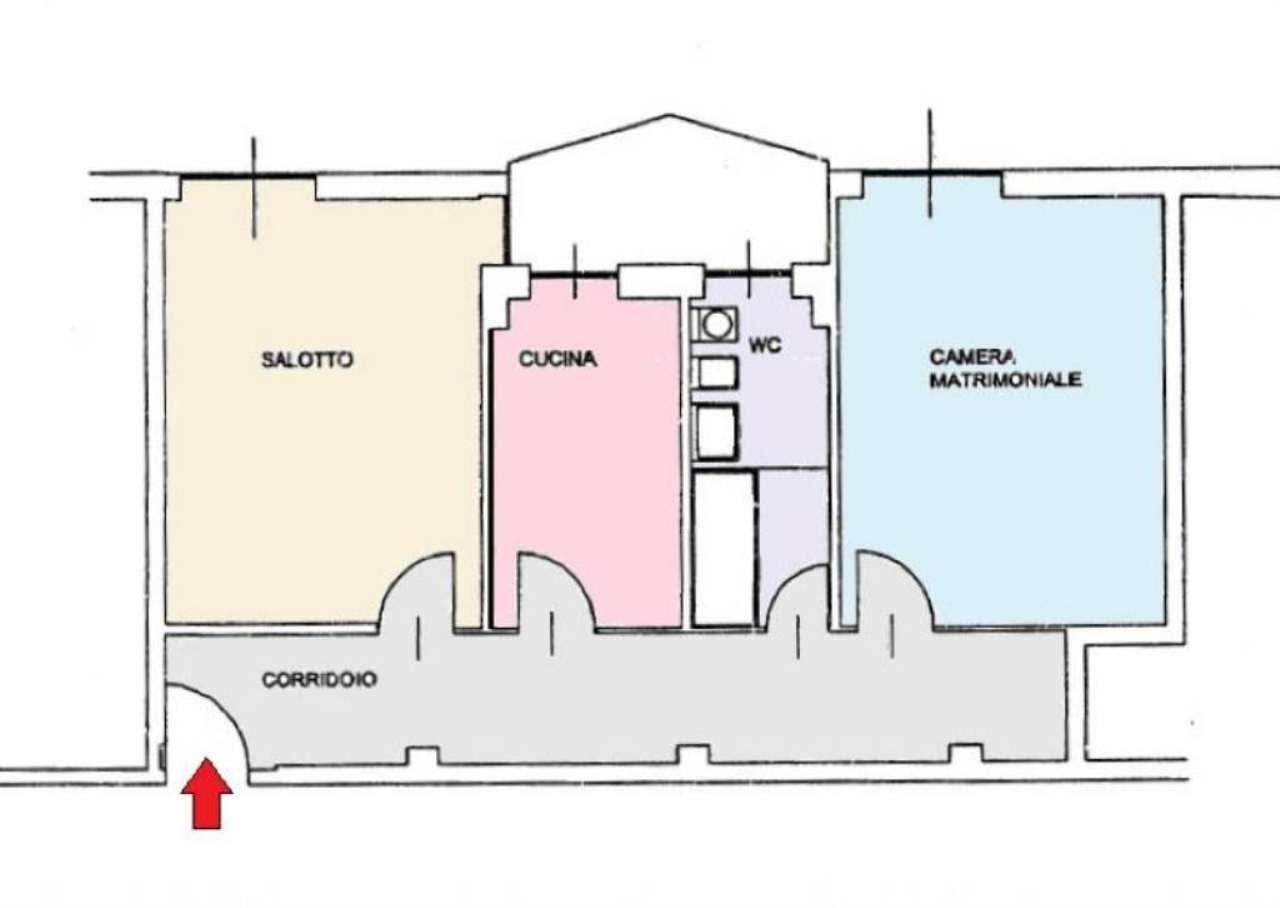Vendita  bilocale Monza Via Galileo Galilei 1 1018403