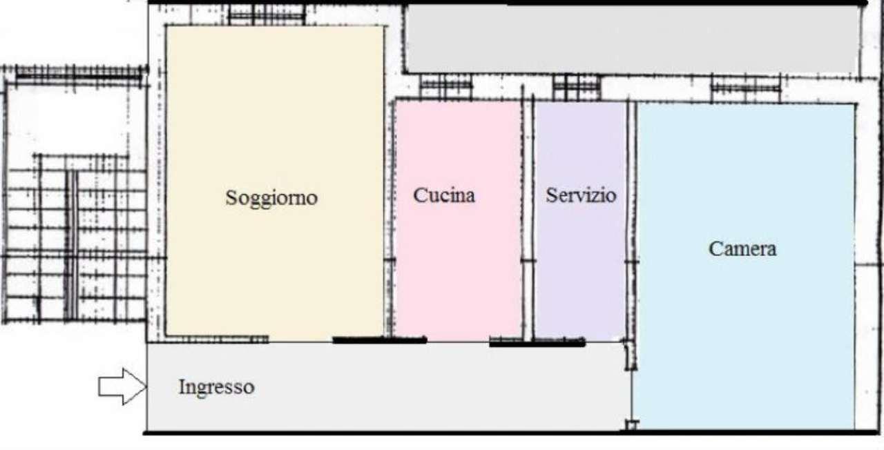 Vendita  bilocale Monza Via Tasso 1 1044406
