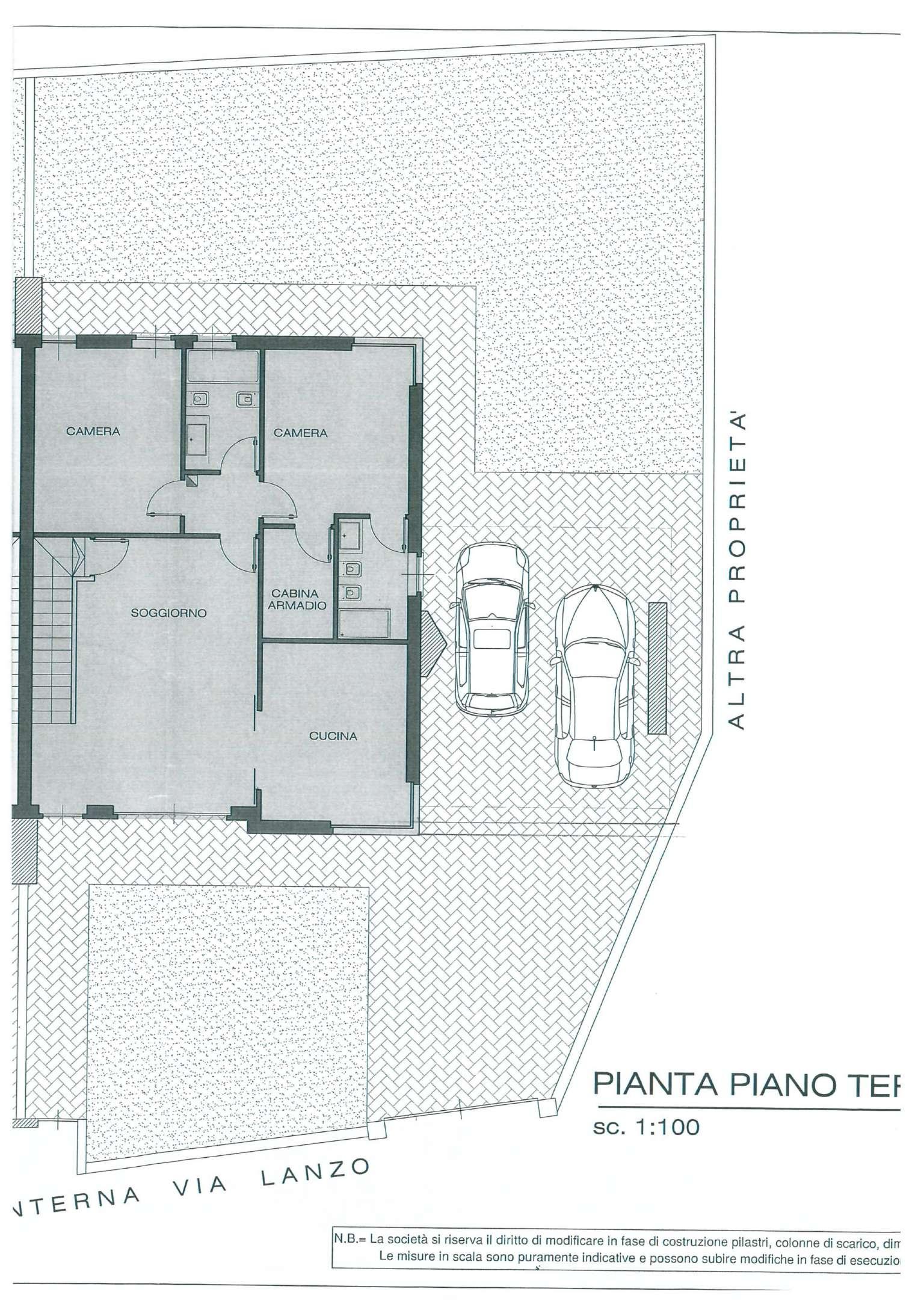 Borgaro Torinese Vendita PORZIONE DI CASA Immagine 2