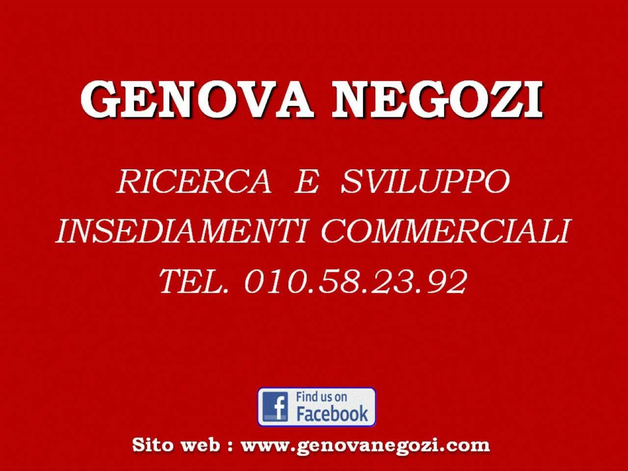 Negozio / Locale in affitto a Genova, 1 locali, prezzo € 1.200   Cambio Casa.it