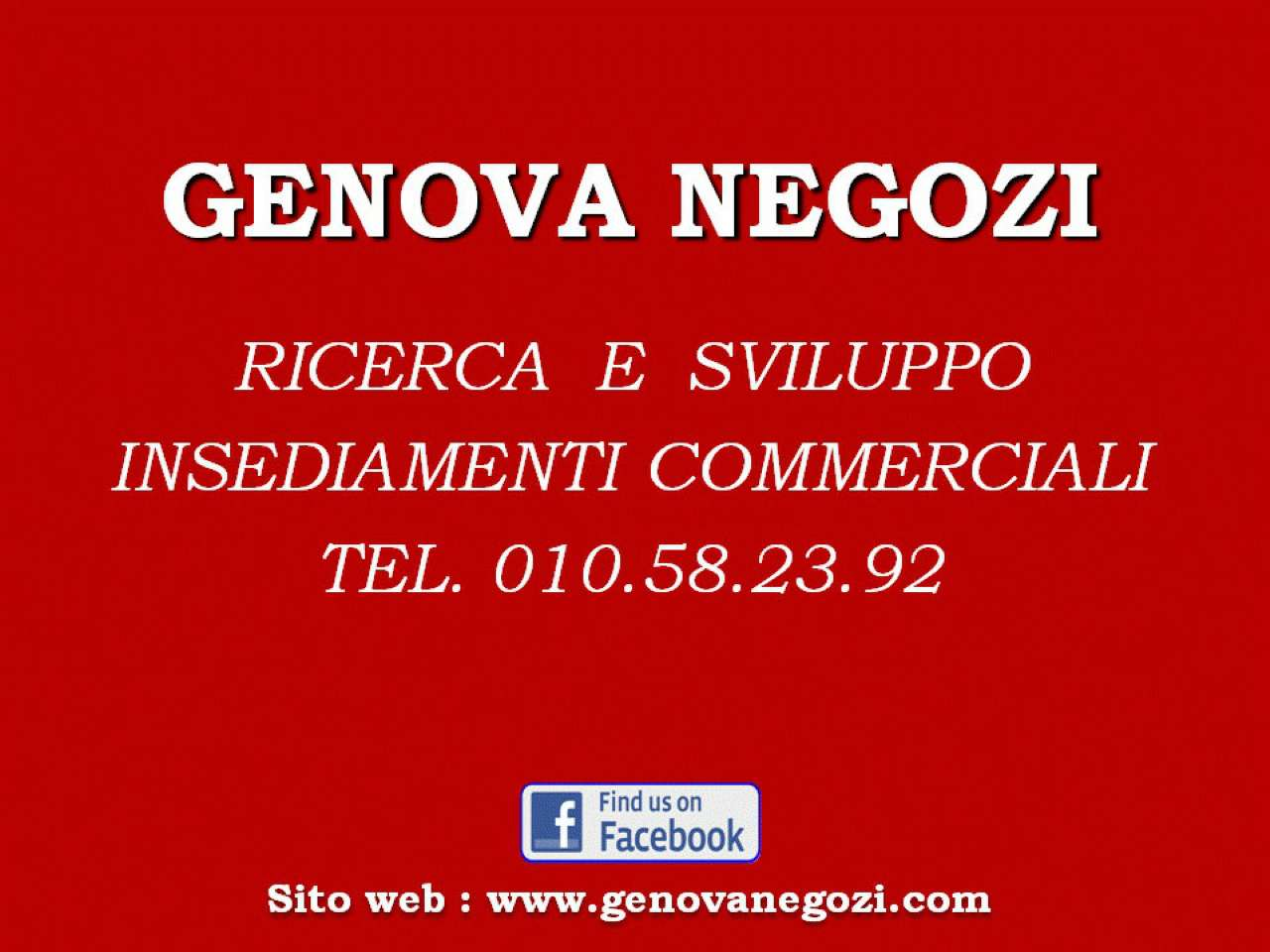 Negozio / Locale in affitto a Genova, 1 locali, prezzo € 1.300   CambioCasa.it