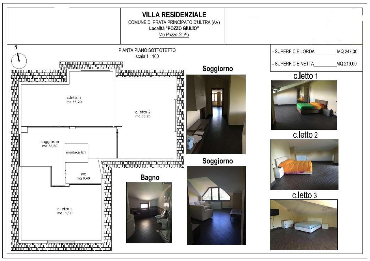 Villa in vendita a Prata di Principato Ultra, 8 locali, prezzo € 700.000 | CambioCasa.it