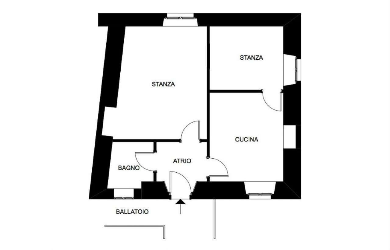Vendita  bilocale Trieste Via Del Molino A Vento 1 845264