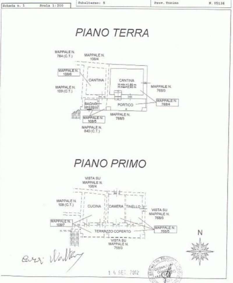 Caprie Vendita CASALE / RUSTICO / CASA / CASCINA Immagine 1