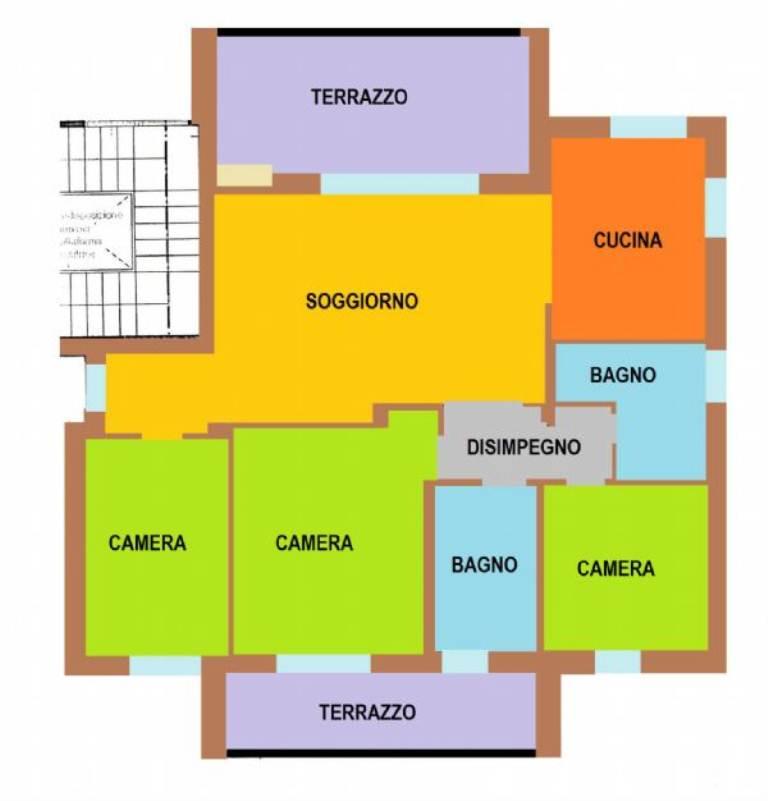 Appartamento in vendita a Castelfranco Veneto, 5 locali, prezzo € 198.000   Cambio Casa.it