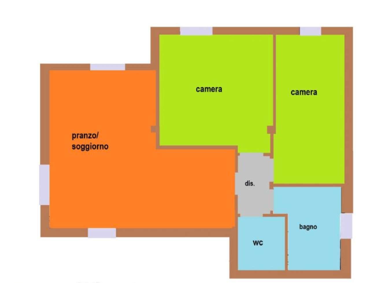 Appartamento in vendita a Castelfranco Veneto, 3 locali, prezzo € 140.000 | Cambio Casa.it