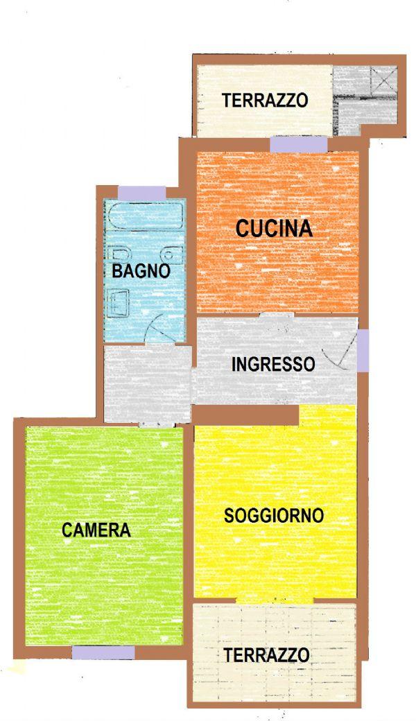 Appartamento in vendita a Castelfranco Veneto, 2 locali, prezzo € 79.000 | CambioCasa.it