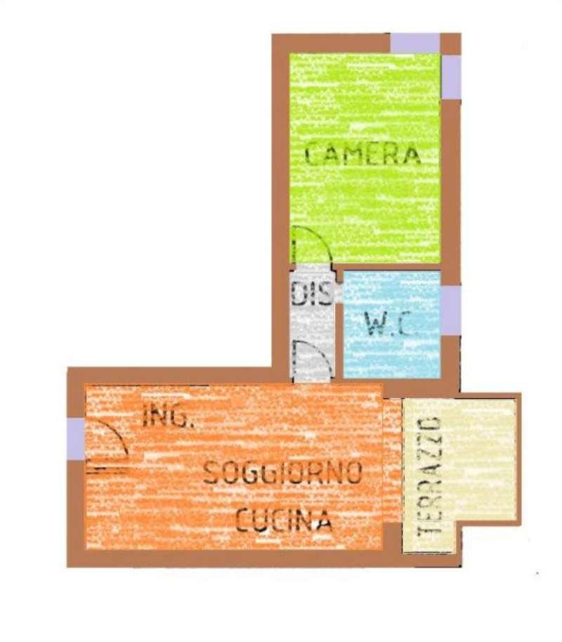 Appartamento in vendita a Castelfranco Veneto, 2 locali, prezzo € 85.000   Cambio Casa.it