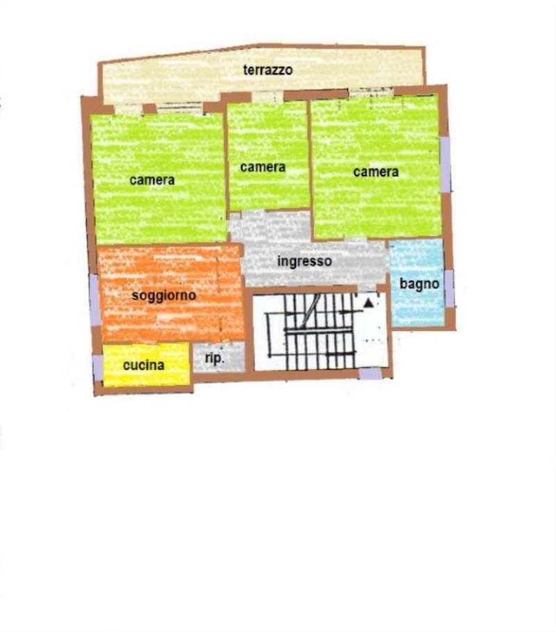 Appartamento in vendita a Castelfranco Veneto, 6 locali, prezzo € 80.000 | CambioCasa.it