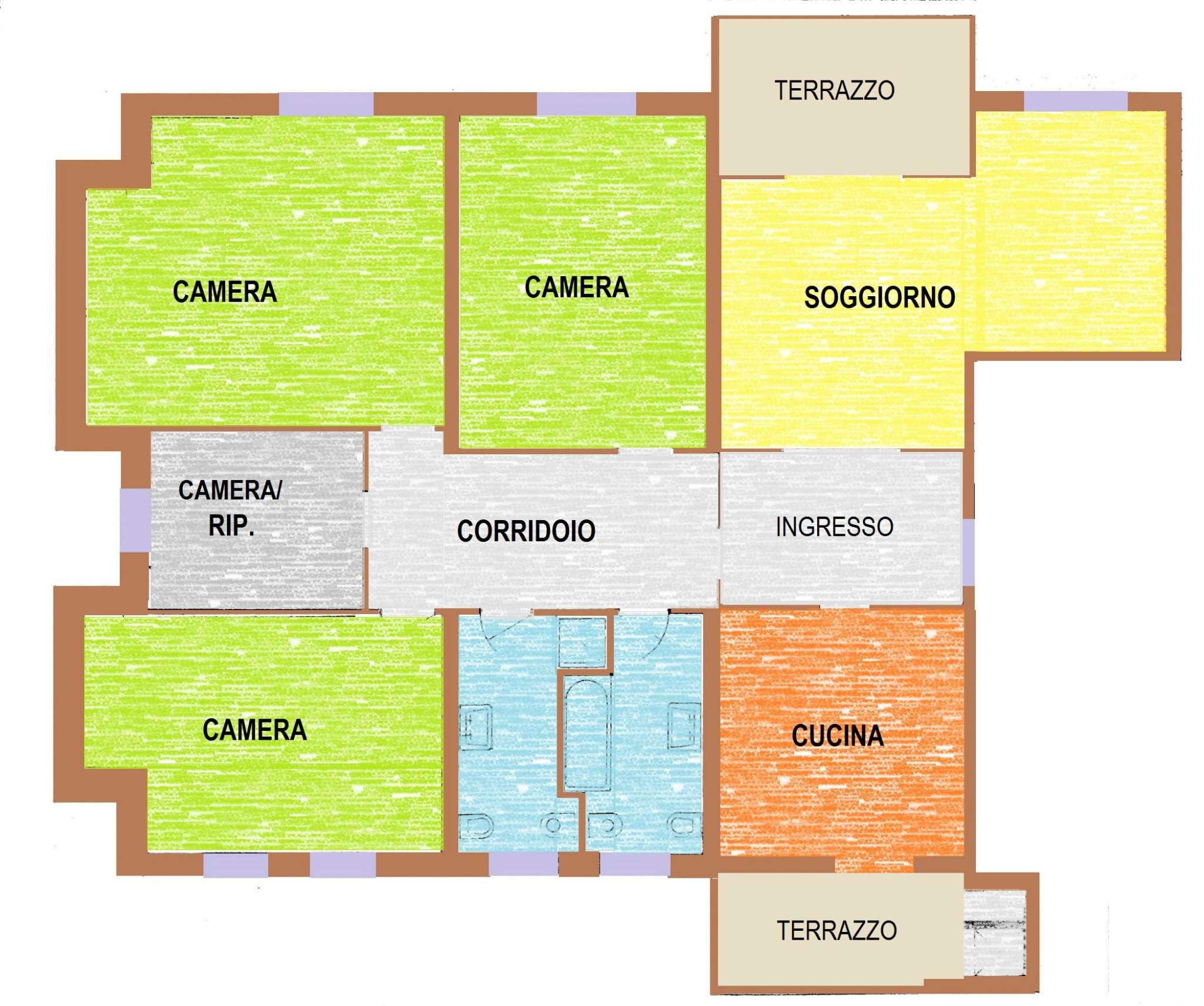 Appartamento in affitto a Castelfranco Veneto, 5 locali, prezzo € 650 | Cambio Casa.it