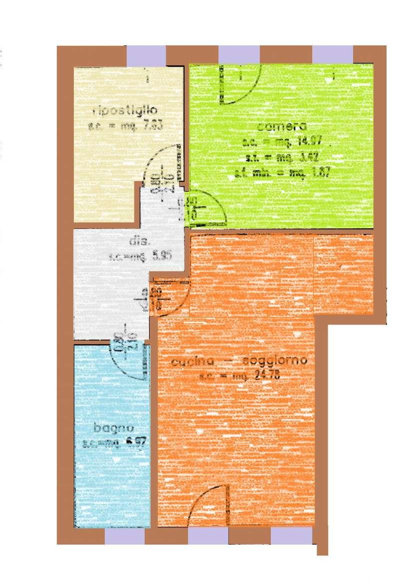Appartamento in affitto a Riese Pio X, 3 locali, prezzo € 450 | Cambio Casa.it