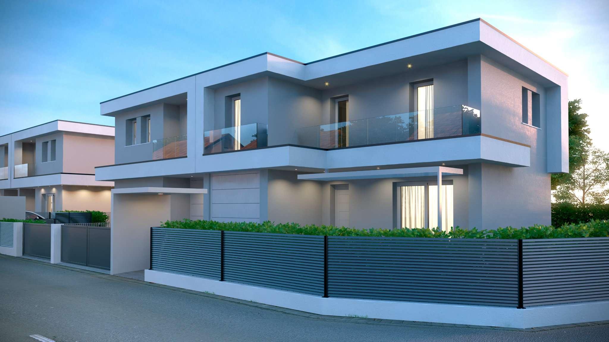 Ville bifamiliari in vendita a castelfranco veneto for Ville bifamiliari moderne