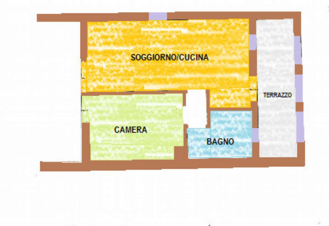 Appartamento in vendita a Castelfranco Veneto, 2 locali, prezzo € 99.000 | Cambio Casa.it