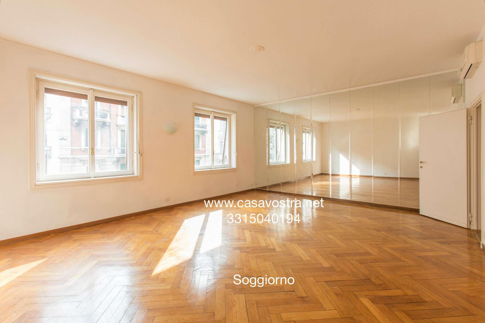 Appartamento in Vendita a Milano 03 Venezia / Piave / Buenos Aires: 4 locali, 140 mq