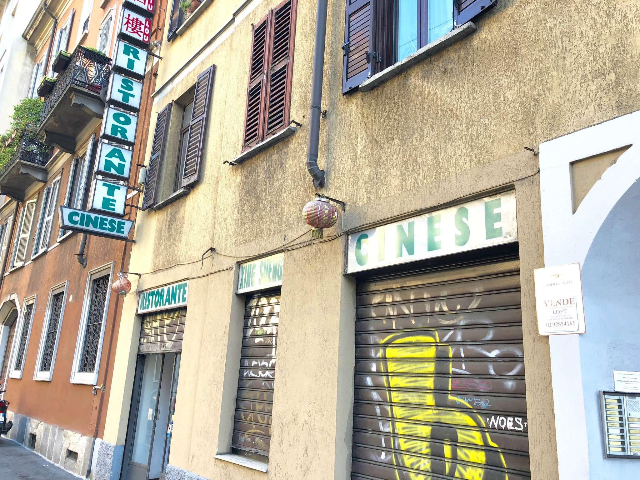 Negozio-locale in Affitto a Milano 07 Darsena /  Ticinese: 5 locali, 184 mq