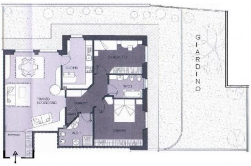 Appartamento in vendita a Desio, 3 locali, prezzo € 250.600 | Cambiocasa.it