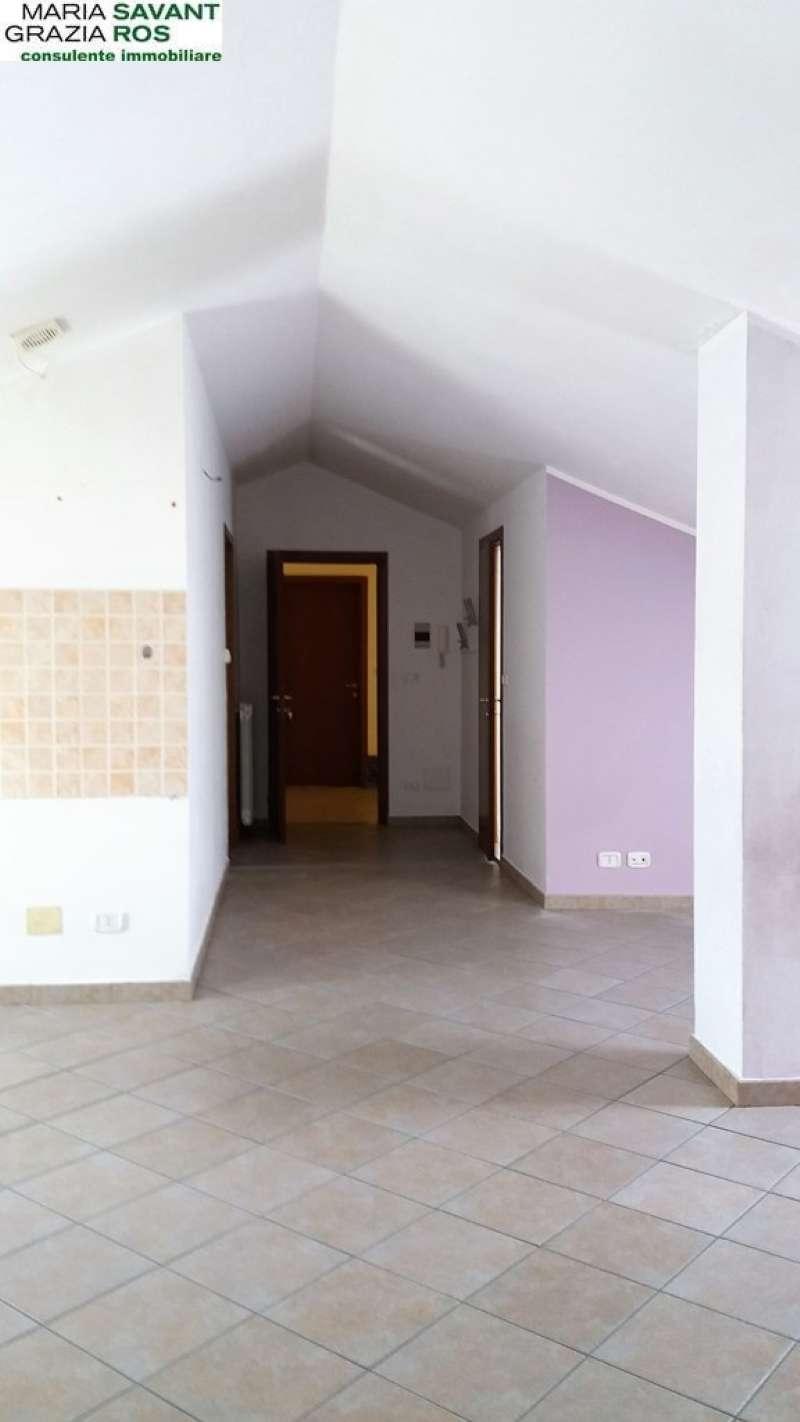 Attico / Mansarda in affitto a Nole, 2 locali, prezzo € 350 | Cambio Casa.it