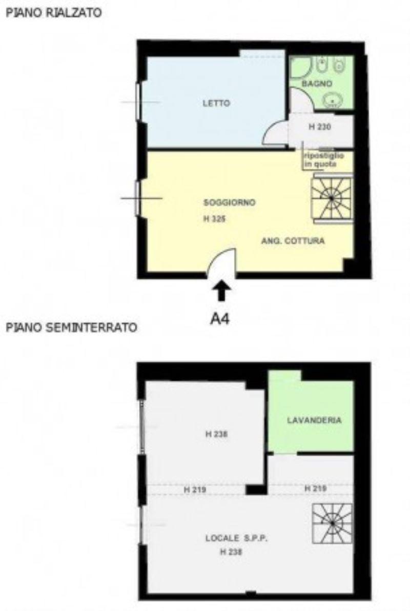 Vendita  bilocale Milano Via Gioacchino Murat 1 840256