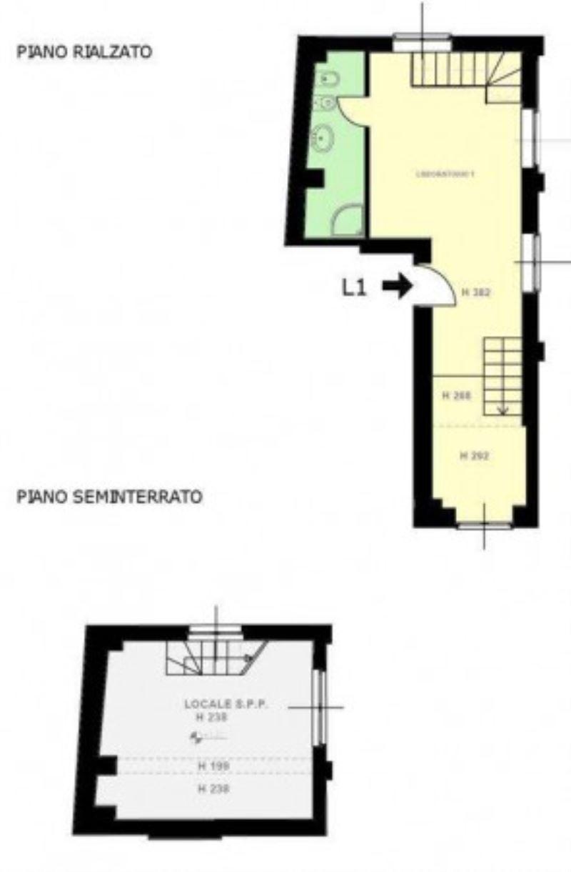 Vendita  bilocale Milano Via Gioacchino Murat 1 840257