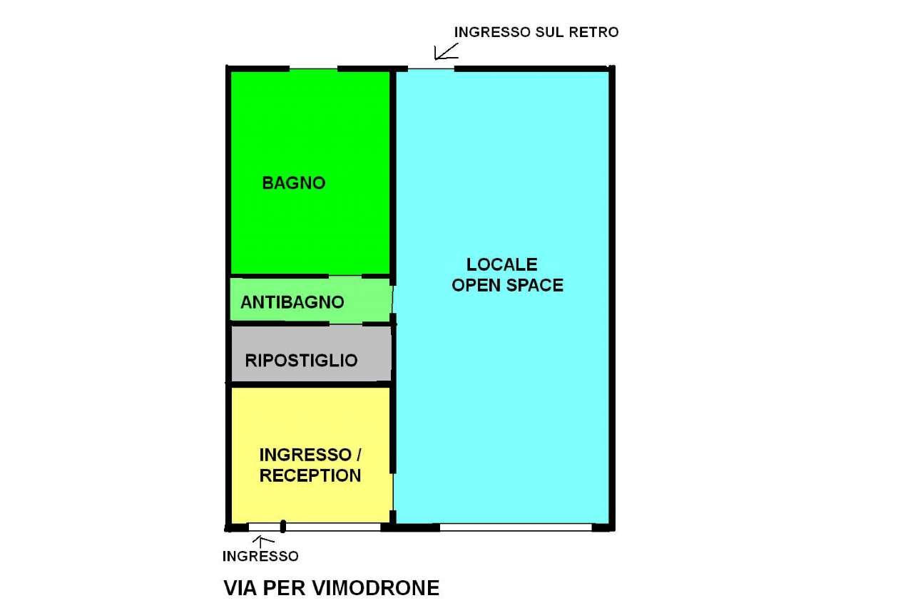 Negozio / Locale in affitto a Vimodrone, 3 locali, prezzo € 700 | Cambio Casa.it