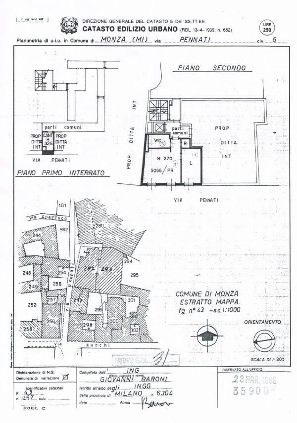 Affitto  bilocale Monza Via Pennati 1 926636