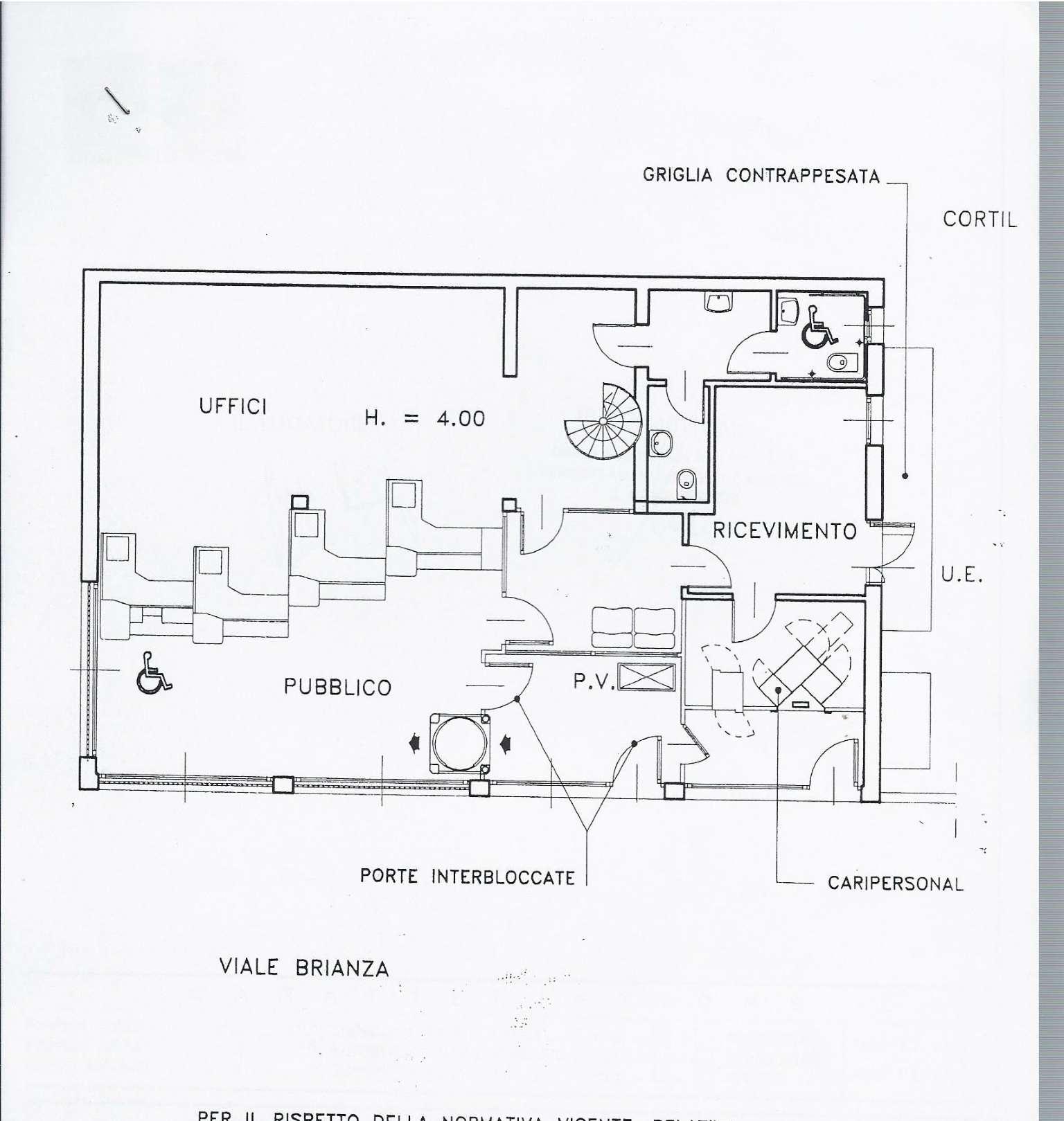 Negozio / Locale in affitto a Varedo, 8 locali, prezzo € 21.600 | CambioCasa.it