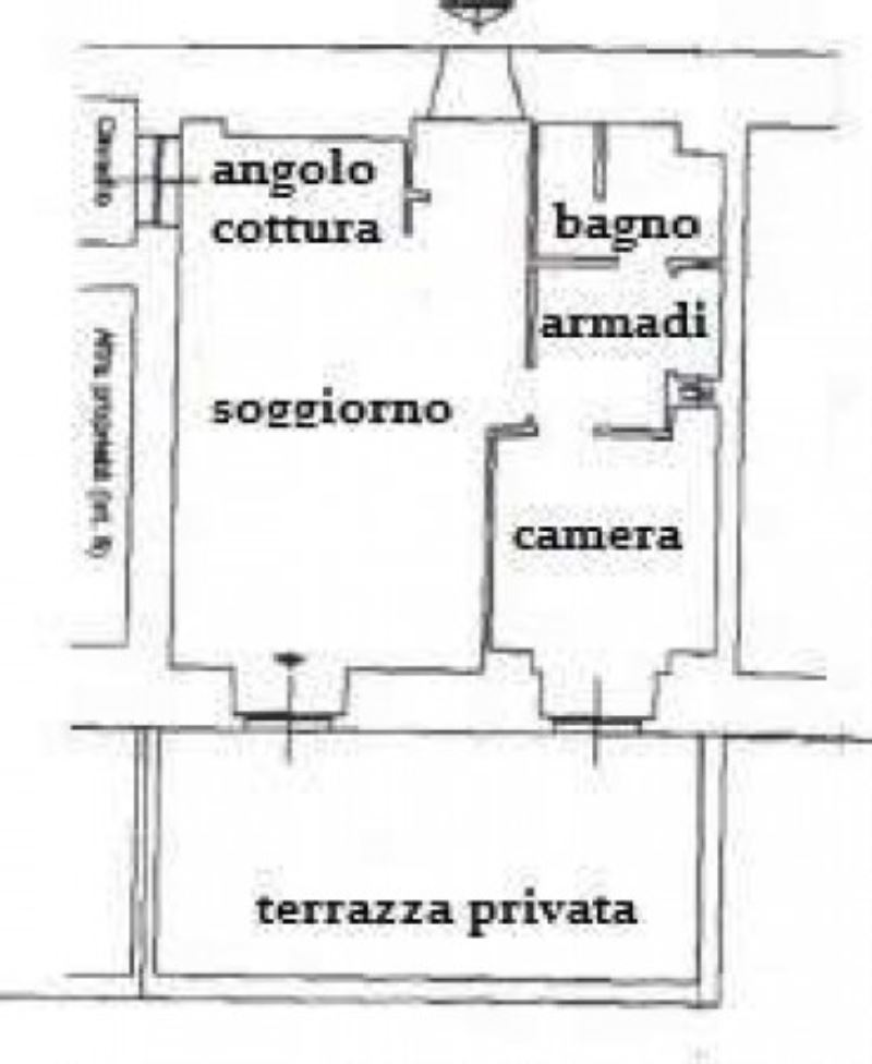 Vendita  bilocale Genova Via Capolungo 1 836855