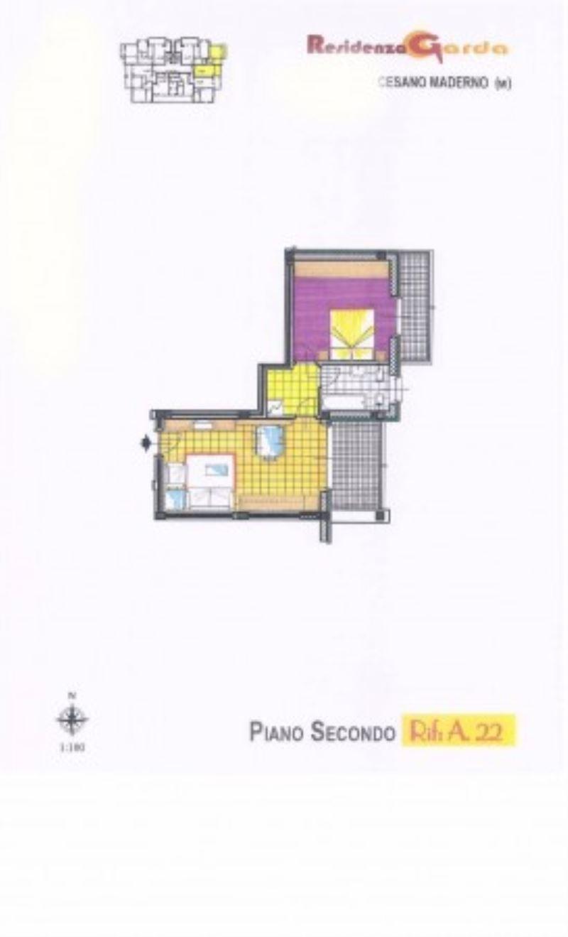 Bilocale Cesano Maderno Via Molino Arese 2