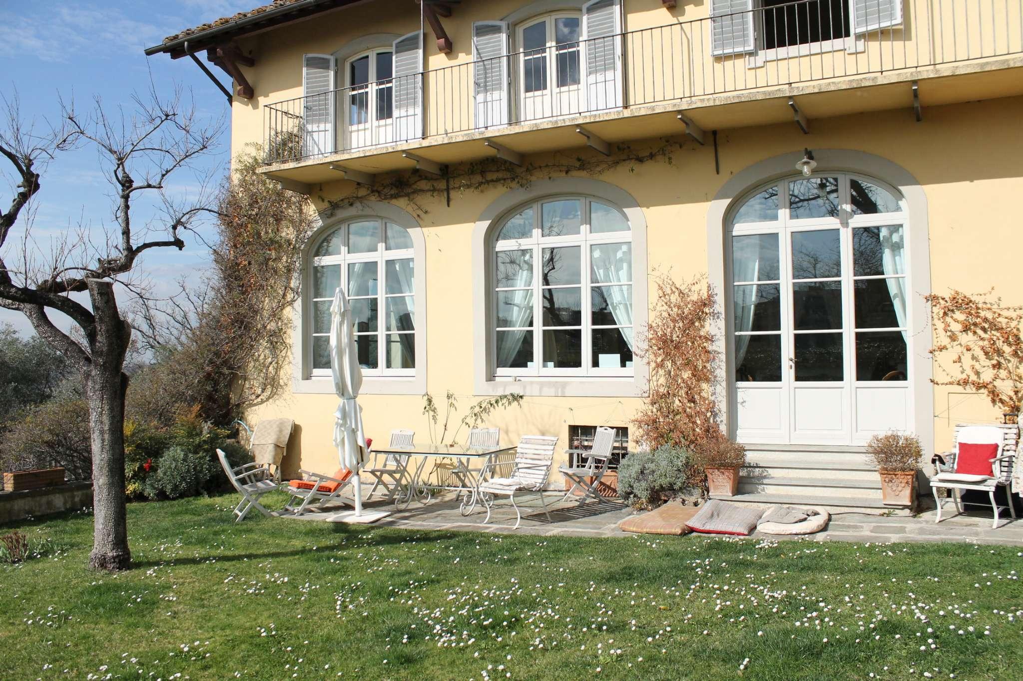 Soluzione Indipendente in affitto a Firenze, 7 locali, zona Zona: 18 . Settignano, Coverciano, prezzo € 4.100   Cambio Casa.it