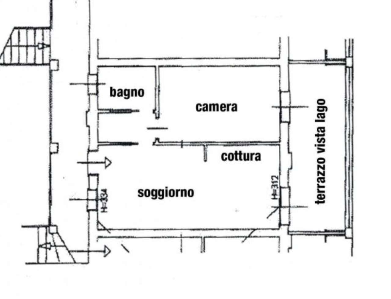 Vendita  bilocale Oliveto Lario Via Privata Monsignor Giorgio Zunini 1 855328