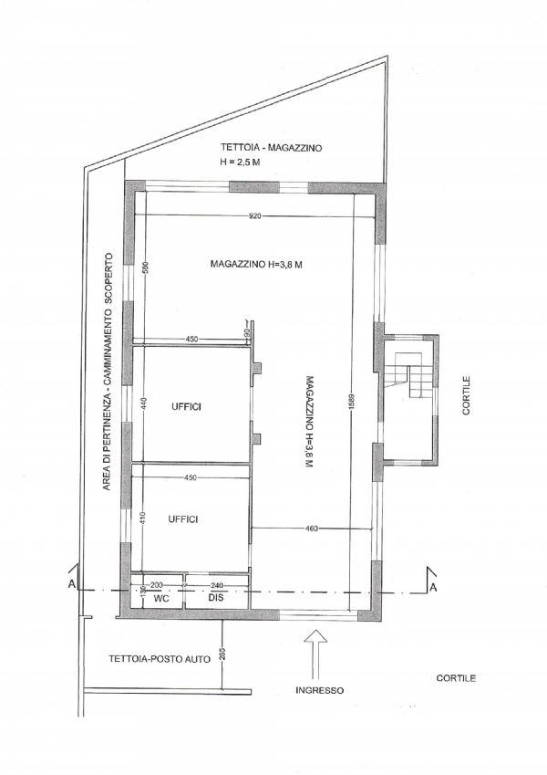 Magazzino in affitto a Mozzate, 9999 locali, prezzo € 650 | Cambio Casa.it