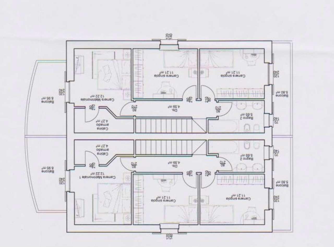 Villa Bifamiliare in Vendita a Gorla Maggiore