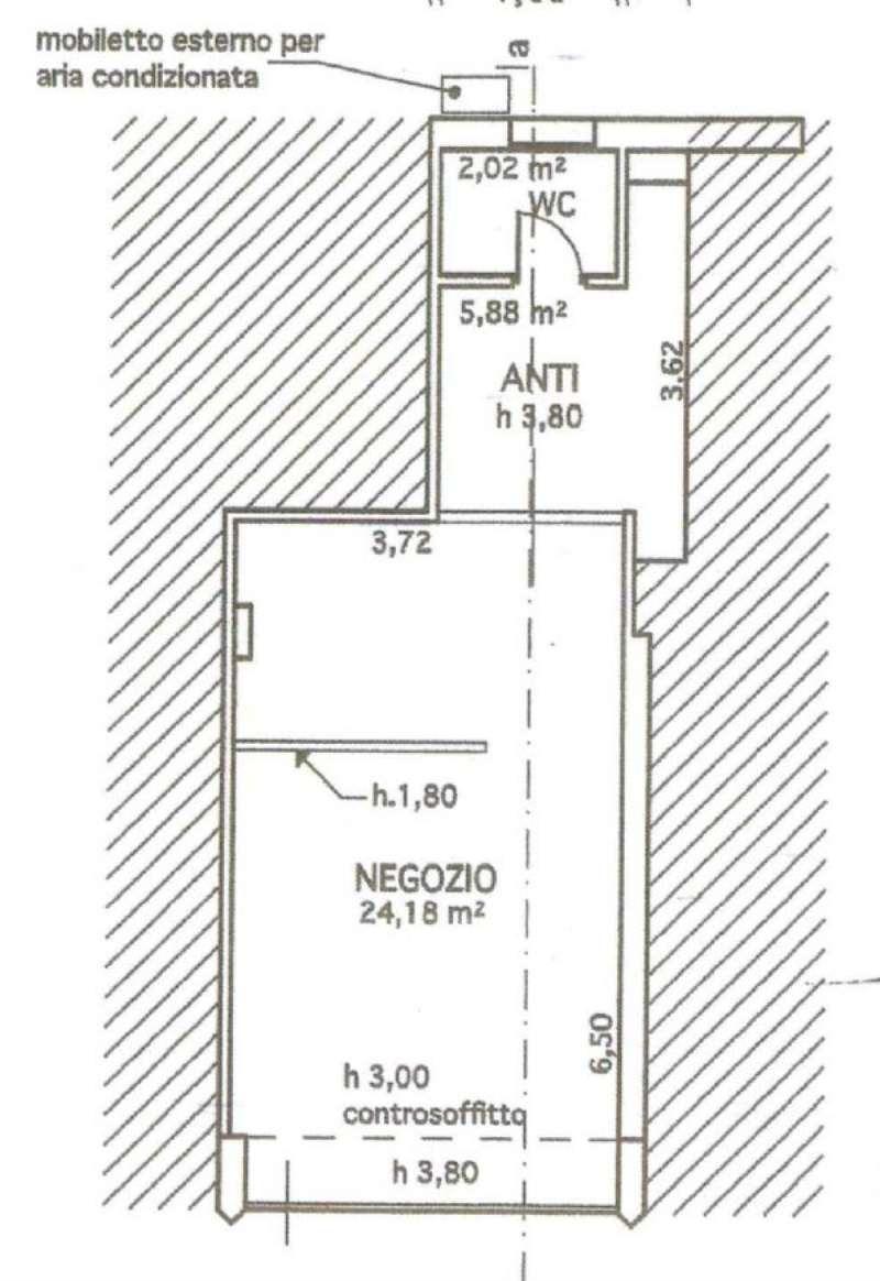 Negozio / Locale in affitto a Jesolo, 1 locali, prezzo € 400 | Cambio Casa.it